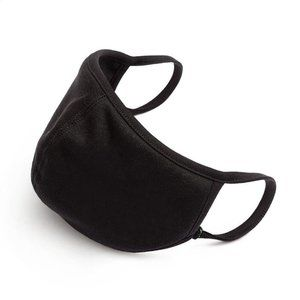 Accessories - Black Face Mask SIZE S GREAT FOR KIDS & LIL ONES